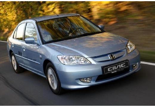 HONDA Civic sedan niebieski jasny przedni prawy