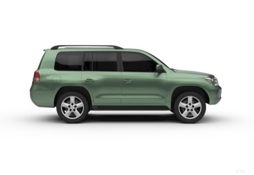 Toyota Land Cruiser V8 I kombi boczny prawy