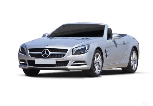 MERCEDES-BENZ Klasa SL SL 231 I roadster silver grey