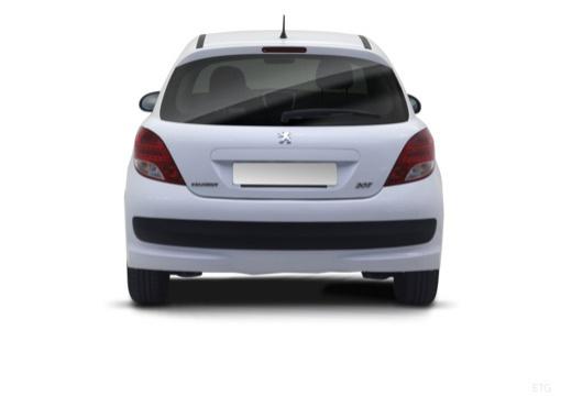 PEUGEOT 207 hatchback tylny