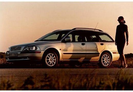 VOLVO V40 III kombi silver grey przedni lewy