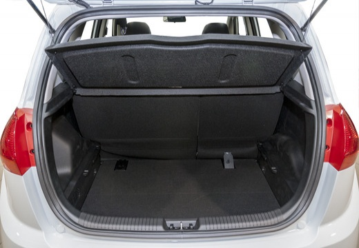 KIA Venga II hatchback przestrzeń załadunkowa