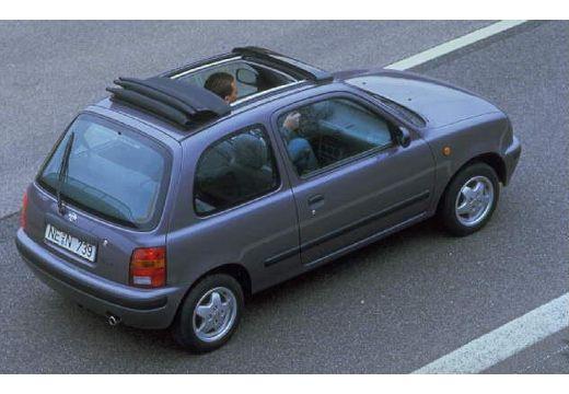 NISSAN Micra II hatchback górny tylny