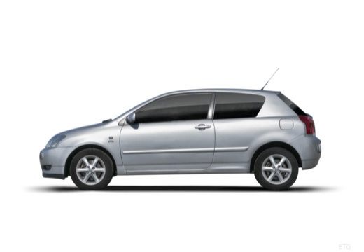 Toyota Corolla VI hatchback boczny lewy