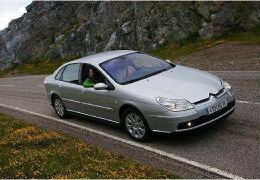 CITROEN C5 II hatchback silver grey przedni prawy