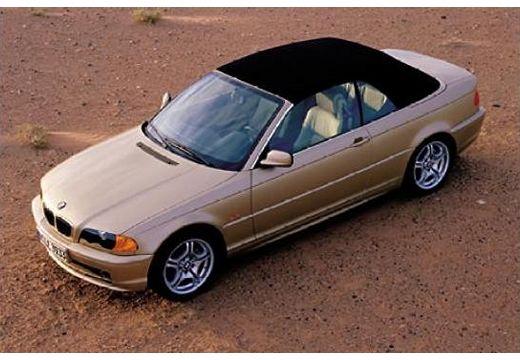 BMW Seria 3 kabriolet złoty górny przedni