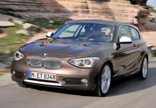 BMW Seria 1 F21 I hatchback brązowy przedni lewy