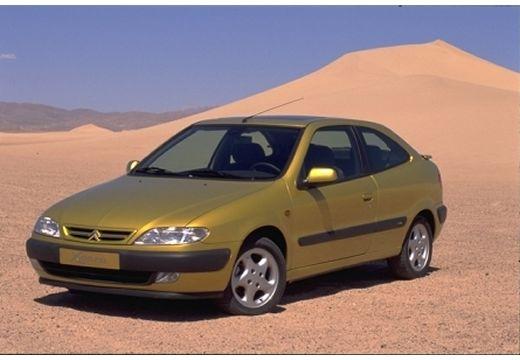CITROEN Xsara I hatchback żółty przedni lewy