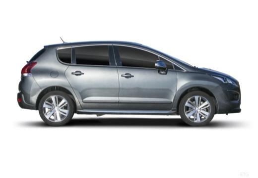 PEUGEOT 3008 hatchback boczny prawy