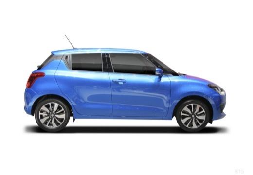 SUZUKI Swift IV hatchback boczny prawy