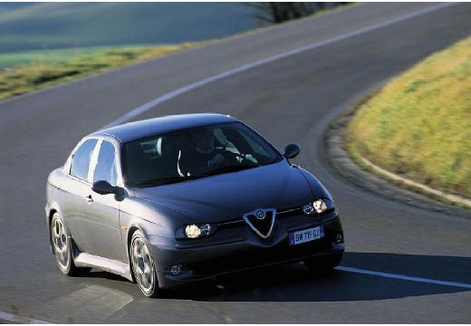 ALFA ROMEO 156 sedan szary ciemny przedni prawy
