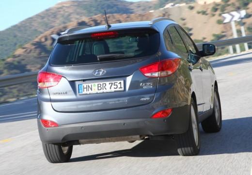 HYUNDAI ix35 I kombi silver grey tylny prawy