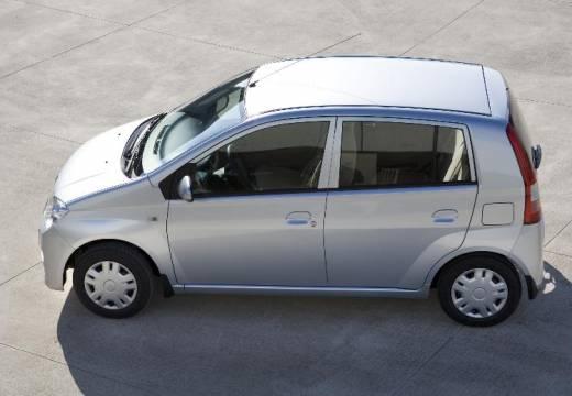 DAIHATSU Cuore VI hatchback silver grey boczny lewy