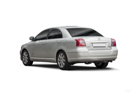 Toyota Avensis IV sedan silver grey tylny lewy