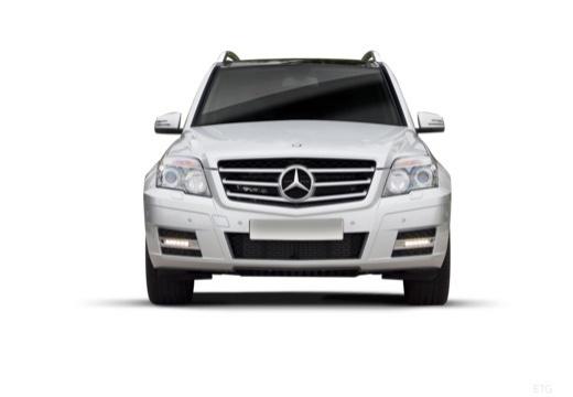 MERCEDES-BENZ Klasa GLK kombi silver grey przedni