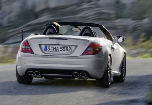 MERCEDES-BENZ Klasa SLK SLK R 171 II roadster silver grey tylny prawy
