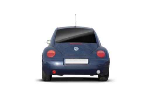 VOLKSWAGEN New Beetle I coupe niebieski jasny tylny