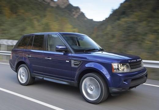 LAND ROVER Range Rover Sport III kombi niebieski jasny przedni prawy