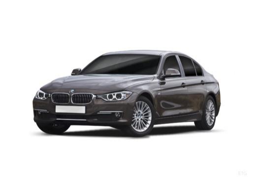 BMW Seria 3 F30 sedan szary ciemny przedni lewy
