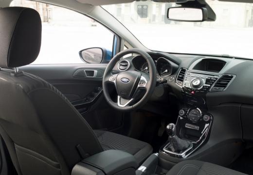 FORD Fiesta VIII hatchback wnętrze