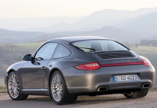 PORSCHE 911 997 coupe szary ciemny tylny lewy