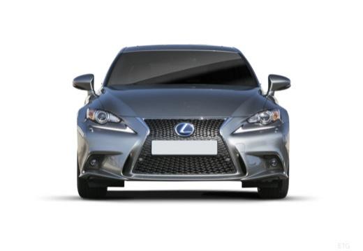 LEXUS IS V sedan szary ciemny przedni