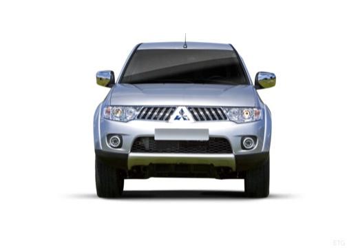 MITSUBISHI L 200 L200 pickup niebieski jasny przedni