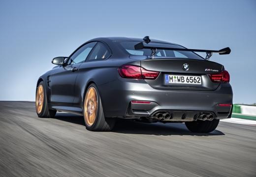 BMW Seria 4 F32 coupe szary ciemny tylny lewy