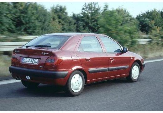 CITROEN Xsara I hatchback czerwony jasny tylny prawy