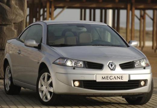 RENAULT Megane II CC kabriolet silver grey przedni prawy