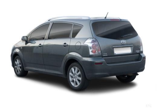 Toyota Corolla Verso II kombi mpv tylny lewy