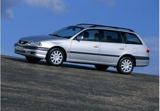 Toyota Avensis II kombi silver grey przedni lewy