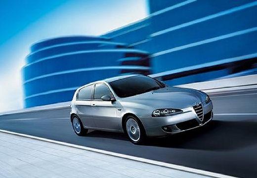 ALFA ROMEO 147 hatchback silver grey przedni prawy