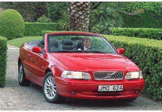 VOLVO C70 kabriolet czerwony jasny przedni prawy