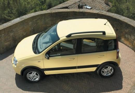 FIAT Panda II hatchback żółty boczny lewy