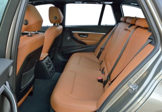 BMW Seria 3 Touring F31 II kombi brązowy wnętrze