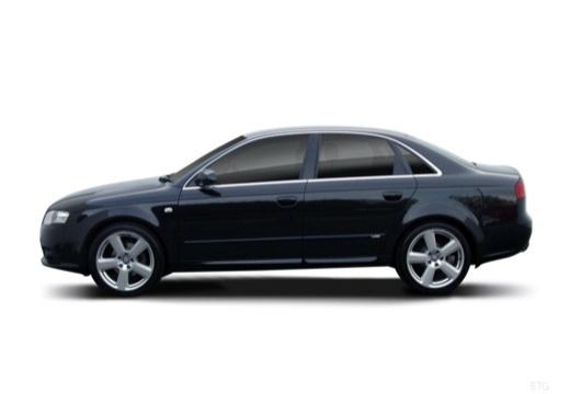 AUDI A4 8E II sedan boczny lewy