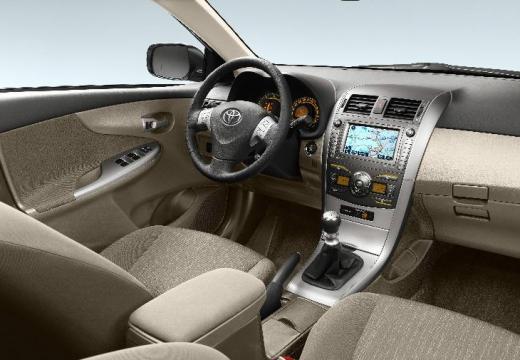 Toyota Corolla I sedan silver grey tablica rozdzielcza