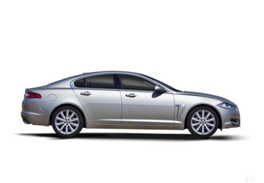 JAGUAR XF II sedan silver grey boczny prawy