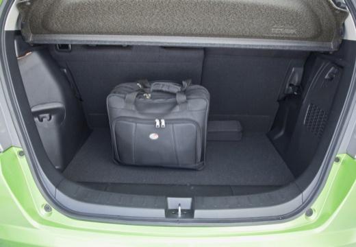 HONDA Jazz III hatchback zielony przestrzeń załadunkowa