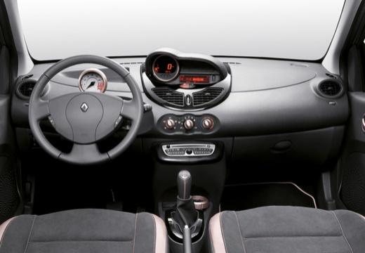 RENAULT Twingo hatchback czerwony jasny tablica rozdzielcza