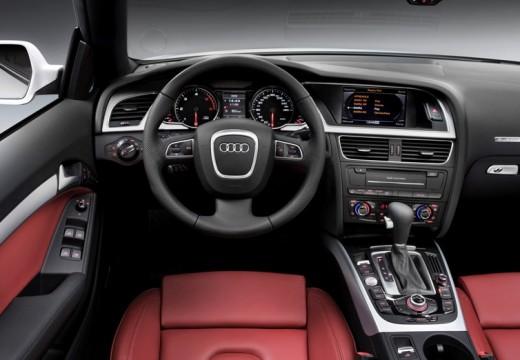 AUDI A5 Cabriolet I kabriolet biały tablica rozdzielcza