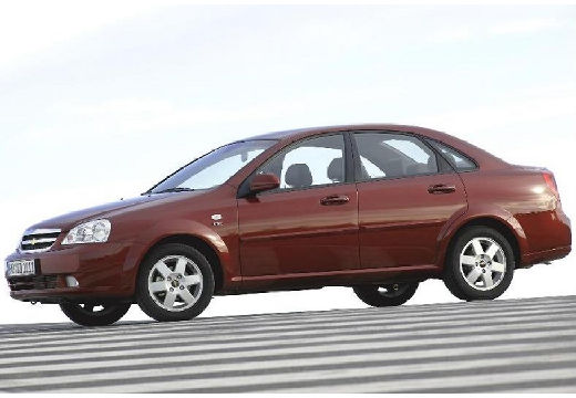 CHEVROLET Lacetti sedan bordeaux (czerwony ciemny) przedni lewy