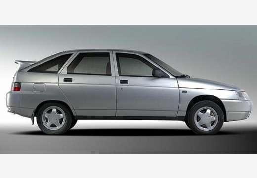 LADA 112 hatchback silver grey boczny prawy