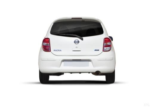 NISSAN Micra VIII hatchback tylny