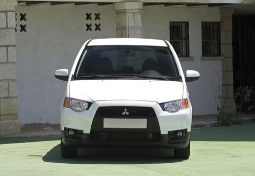 MITSUBISHI Colt VI hatchback biały przedni
