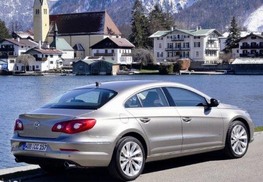 VOLKSWAGEN Passat CC sedan silver grey tylny prawy
