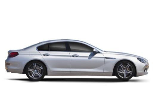 BMW Seria 6 Gran Coupe F06 I sedan silver grey boczny prawy