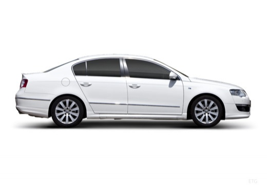 VOLKSWAGEN Passat V sedan biały boczny prawy