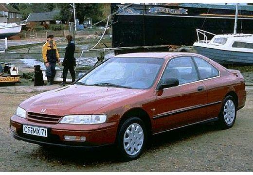 HONDA Accord II coupe bordeaux (czerwony ciemny) przedni lewy